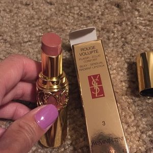 Yves Saint Laurent silky sensual radiant lipstick